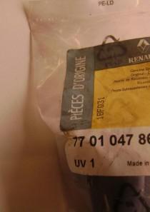 7701047869  Wischerarm hinten (Metall) Renault Sandero (original)