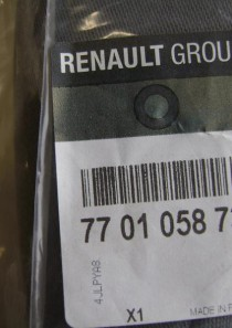 7701058733 Original Renault Armlehne
