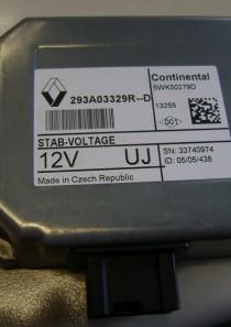 293A03329 Renault Megane III Grandtour Steuergerät Spannungsstabilisator  STABI FU80