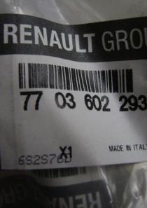 7703602293   Original Renault Dacia Schraube M12 Np33  Set mit 6 Stück