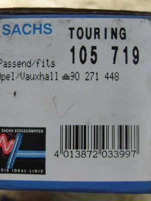 105719  Stoßdämpfer original Sachs, Opel Kadett D Caravan, Kadett E Caravan
