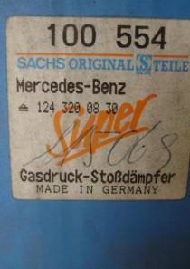 100554 original Sachs Stoßdämpfer Mercedes ( W201, W124, C124, S124)