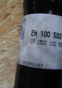 100582  original Sachs Stoßdämpfer VW Golf II, Jetta II