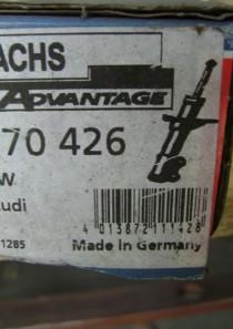 170426 original Sachs Advantage Stoßdämpfer Kenngröße: FEE32/22X176A, Stoßdämpferart: Gasdruck Stoßdämpfer-Bauart: Federbeineinsatz, Stoßdämpfer-System: Zweirohr verstärkte Ausführung Audi 80, 90, Cabriolet, Coupe div. Modelle