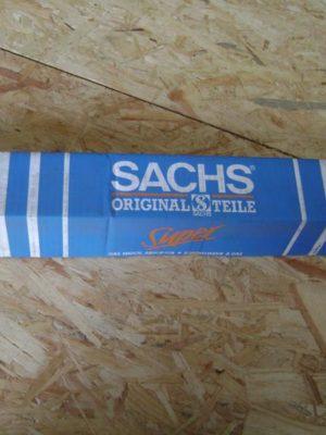 106046  original Sachs Super Touring Gasdruck-Stossdämpfer, Einrohrsystem, oben Stift, unten Auge,  Für Opel Ascona A, Ascona A Caravan, Ascona B, Manta B, Rekord B, Rekord E, jeweils div. Modelle