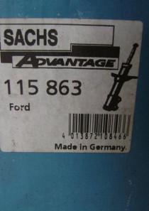 115863 original Sachs Advantage Gasdruck Stoßdämpfer, Kenngröße SFE32X168A Ford Mondeo I (GBP, BNP)