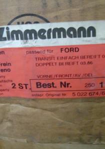 5022674 677  2er Set Bremsscheiben Ford Transit (Kaste, Pritsche, Bus) vorn, div. Modelle