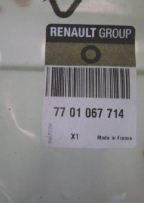 7701067714  POLSTER (Renault) Sitzkern