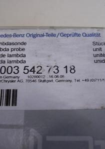 A0035427318  Lambdasonde Mercedes, gebraucht, funktionstüchtig, in Originalverpackung
