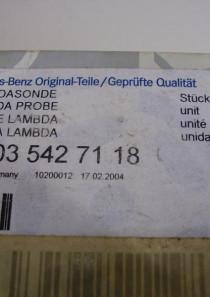 A0035427118 Lambdasonde Mercedes, in Originalverpackung