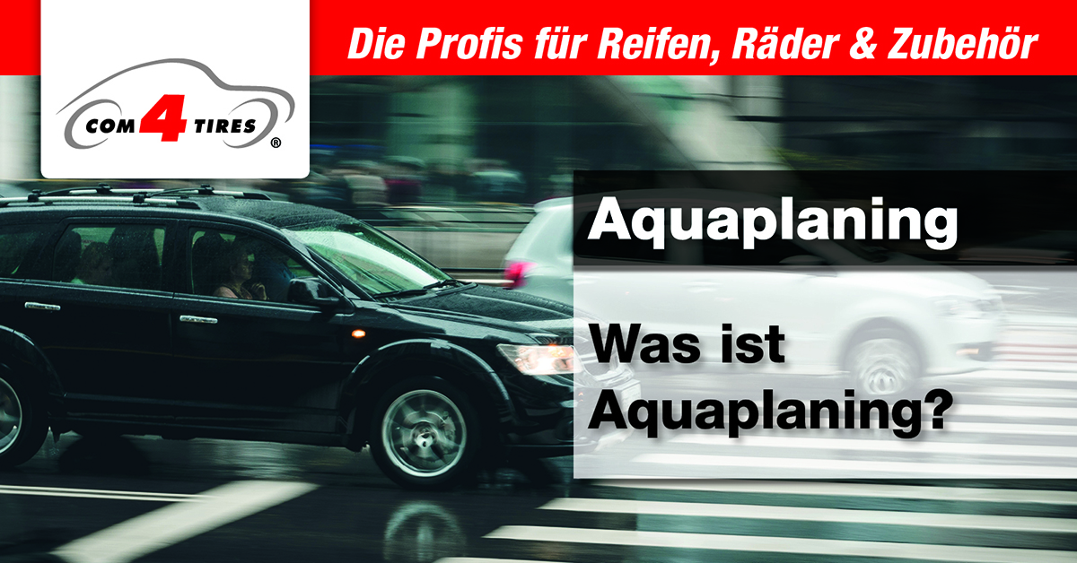 Was ist Aquaplaning?