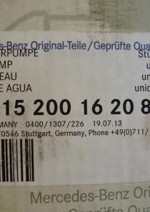 A115200162080 Wasserpumpe Mercedes-Benz, auch Unimog Unimog U 421 / U 40, U 45, U 52, U 60, U 600 kostenloser Versand