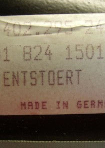 402295  0018241501 Mercedes-Benz Wischermotor von SWF, 24V