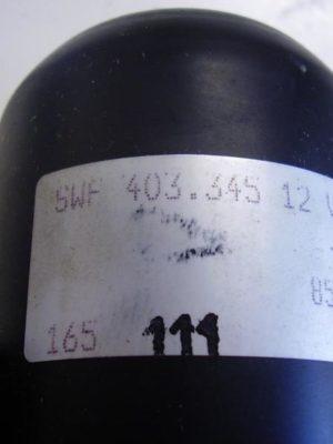 403345 Wischermotor vorne, SWF, 12V