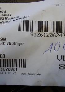 5K0807228A Stoßstange Halter Vorne Rechts
