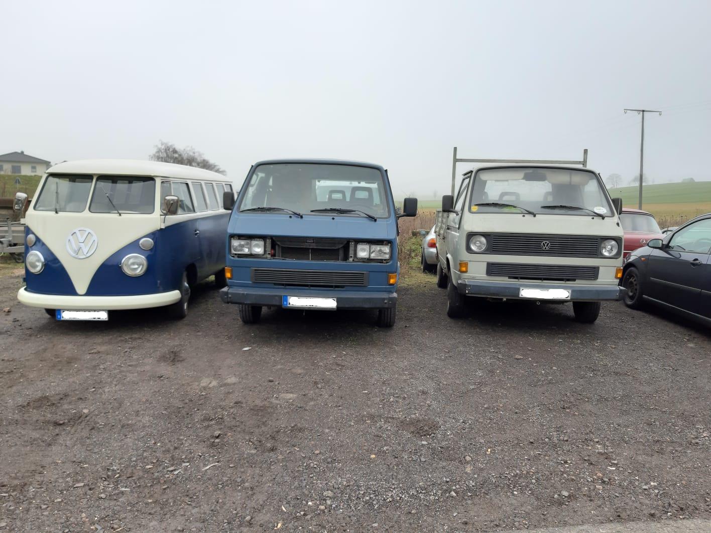 VW Bulli-Parade